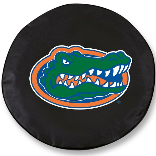 NCAA Tire Cover by Holland Bar Stool - Florida Gators, Black - 30 L x 10 W