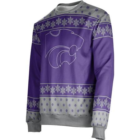 ProSphere Men's Kansas State University Ugly Holiday Snowflake Sweater (Apparel)