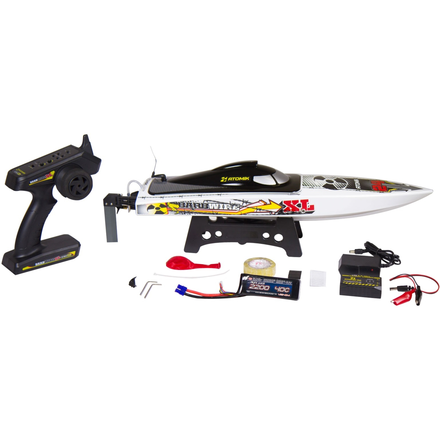Atomik Barbwire Xl Rtr Brushless Rc Boat