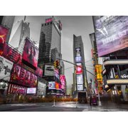 Image of Times Square New York Stretched Canvas - Assaf Frank (18 x 24)