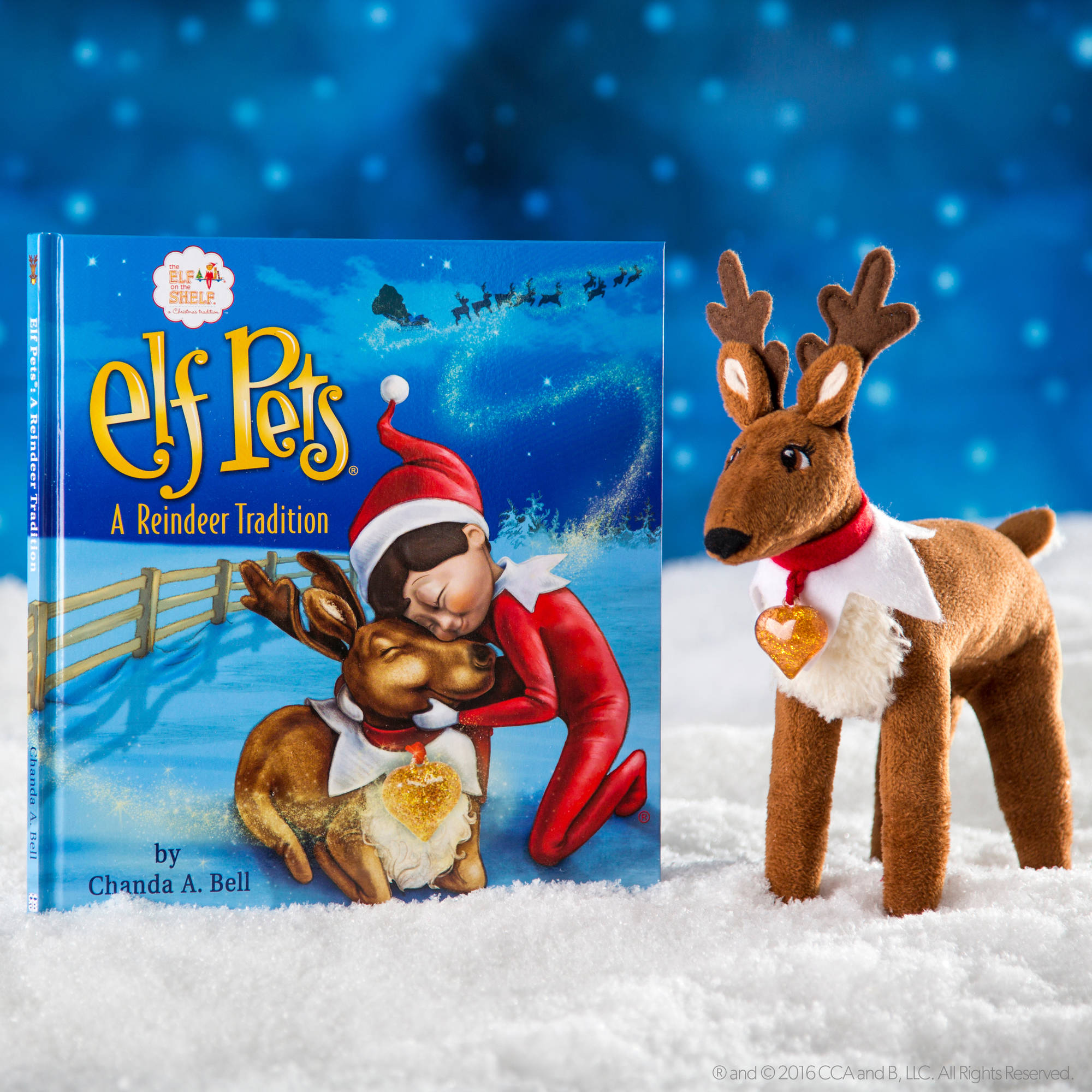 the elf on the shelf a reindeer tradition walmart com