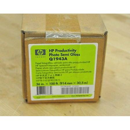 - Genuine HP Q1943A Productivity Photo Semi Gloss Paper SAME DAY SHIPPING