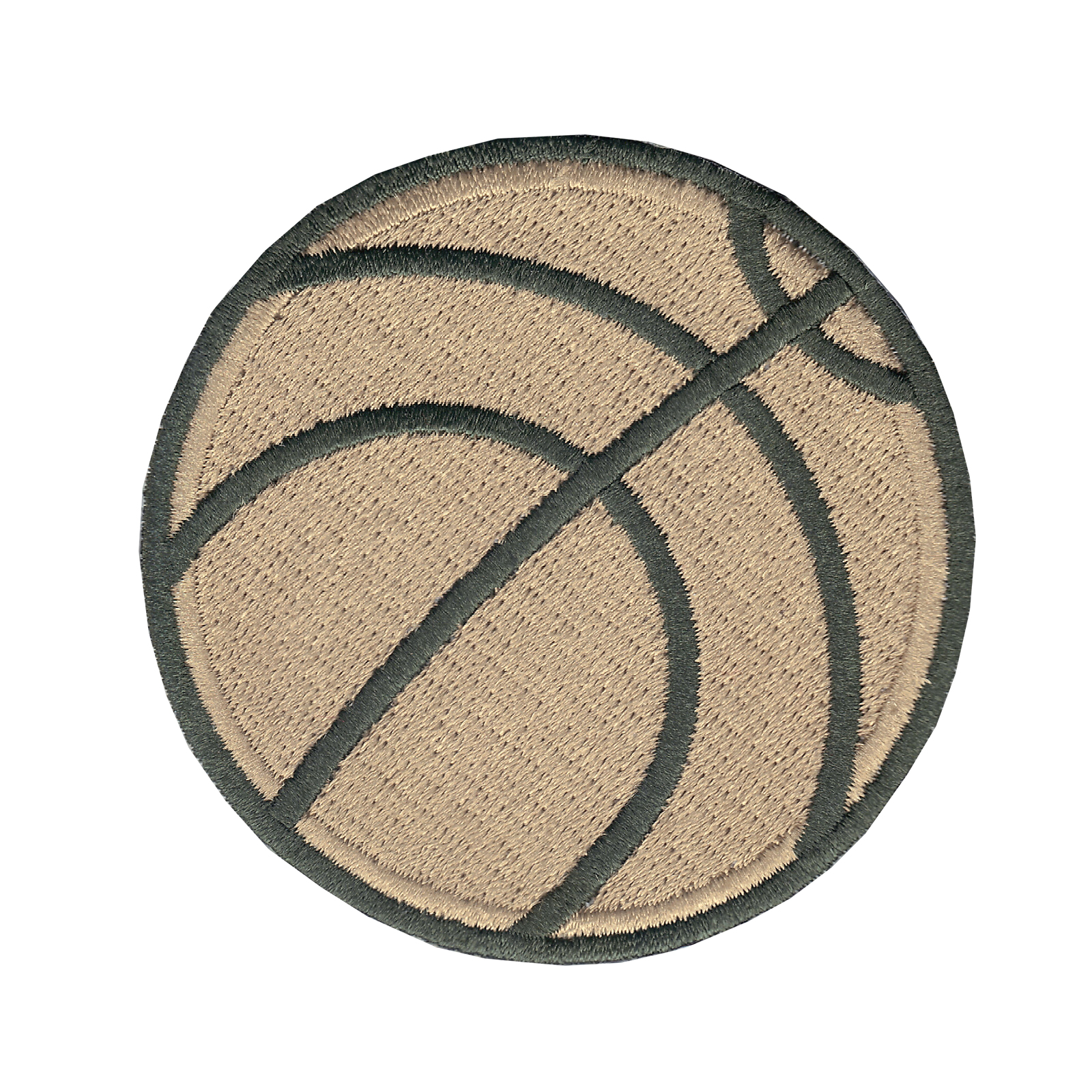 Basketball Iron On Applique Patch