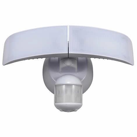Homezone Led Motion Sensor Security Light 2 500 Lumen Output Walmart Com Walmart Com