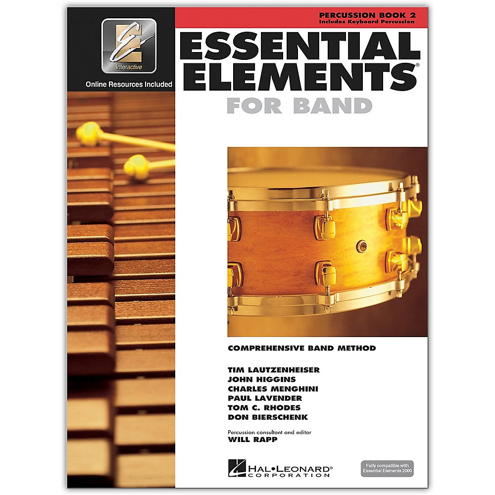Essential Elements 2000 Book #2 - Percussion