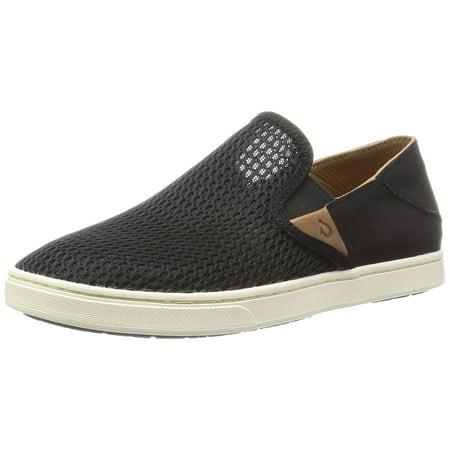 7d881d549ab3 OluKai - OluKai 20271-4040   Pehuea Shoes Women s Black Black (9 B(M) US) -  Walmart.com
