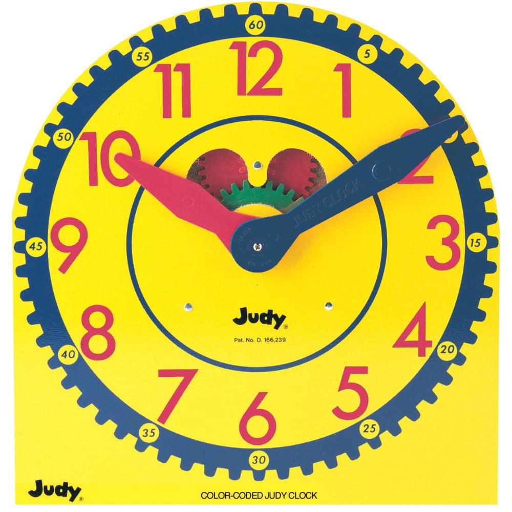 Judy Instructo 078418 Color-Coded Judy Clock