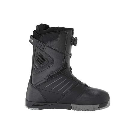 DC Judge Dual BOA Snowboard Boots Black Dc Park Snowboard Boots
