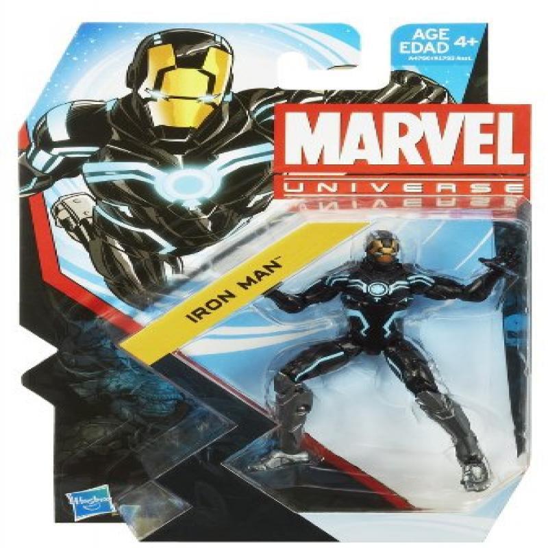 marvel universe series 23 iron man action figure [zero-gravity armor]