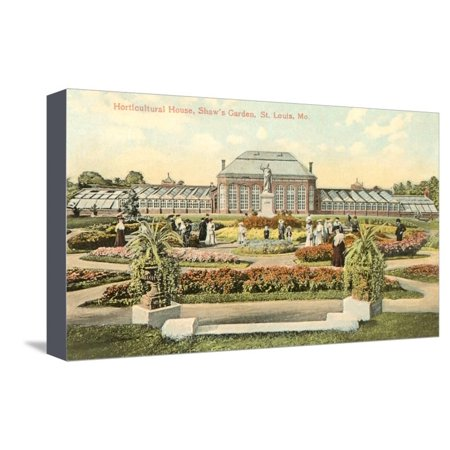 - Shaw's Garden, St. Louis, Missouri Stretched Canvas Print Wall Art
