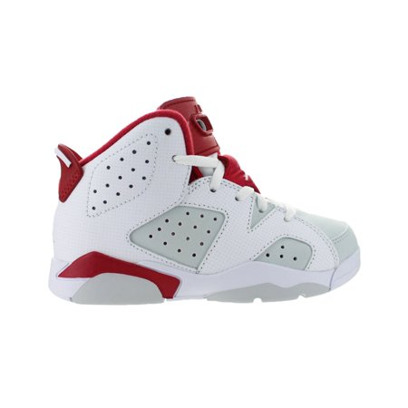 4a7cc16e6eb Air Jordan - Kids Air Jordan Retro 6 VI PS Alternate Hare White Pure  Platinum Gym R - Walmart.com