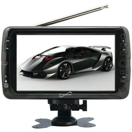 Supersonic SC-195 7″ TFT Portable Digital LCD TV