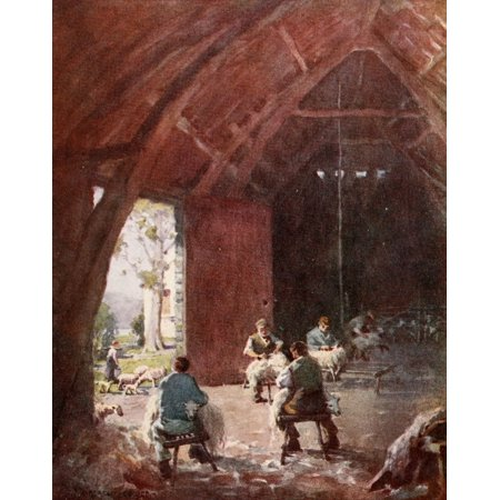 Scotland 1910 Clipping Time Canvas Art - Unknown (18 x 24)