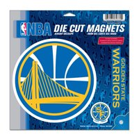 "Golden State Warriors WinCraft 11"" x 11"" 3-Pack Vinyl Magnet Set - No Size"