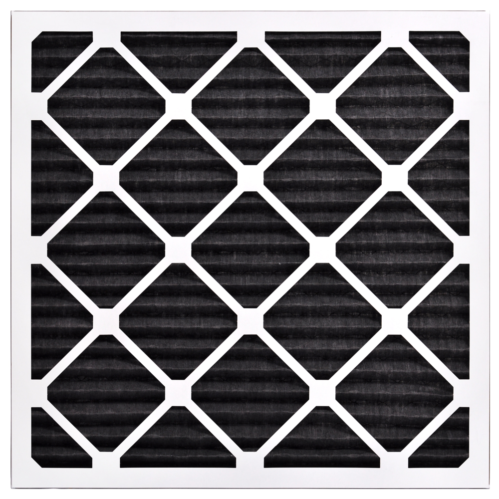 Made in the USA Box of 6 AIRx ODOR 16x16x1 MERV 8 Carbon Pleated Air Filter
