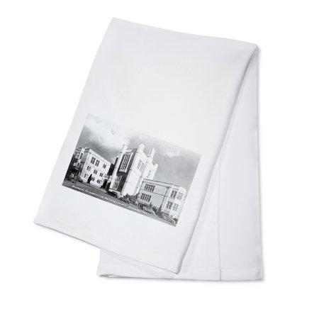 Berkeley, California - University of CA Student Co-Op Bldg Photograph (100% Cotton Kitchen Towel)
