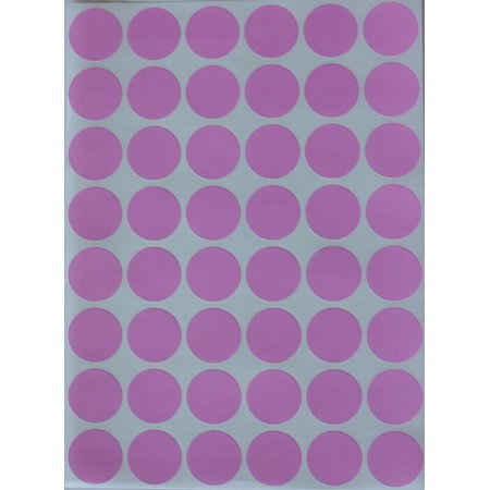 Round stickers approximately 3 4 17 mm pink dot sticker 0 69 inch labels in 720 pack by royal green walmart com