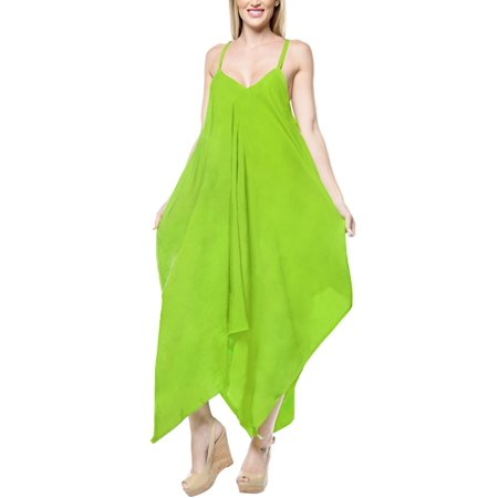 Summer Rayon Solid Long Women Beach Dress Casual Loose Smock Flowy Evening Unique Holiday - Unique Dress Websites