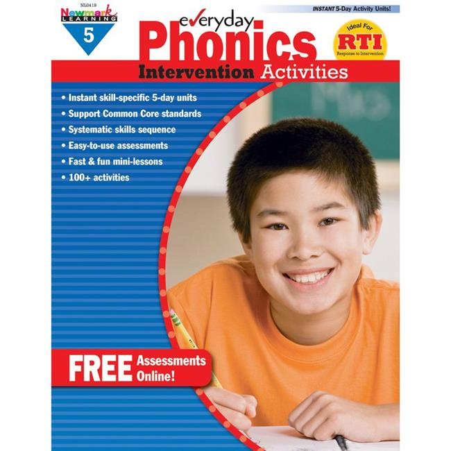 Everyday Phonics Grade 5 Intervention Activities - image 1 de 1