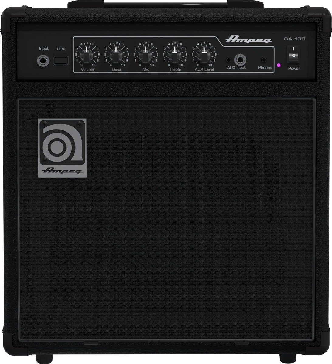 "Ampeg BA-108V2 20W 8"" Bass Combo Amplifier"