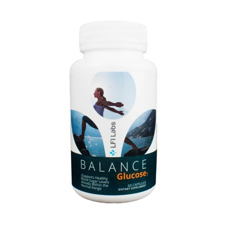 LFI Balance Glucose - Your Cardiologist Recommended 100% Trusted Natural Blood Sugar Management Supplement For Blood Glucose Support and Healthy Weight Loss