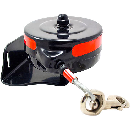 Howard Pet Products Bracket Mount Retractable Reel for Dogs, Size Large