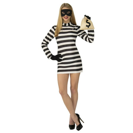 Womens Burglar Babe Costume - Cat Burglar Halloween