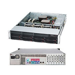 Series Rackmount Enclosure - Supermicro SuperChassis SC825TQ-563LPB Rackmount Enclosure - Rack-mountable - Black - 2U - 8 x Bay - 3 x Fan(s) Installed - 560 W - EATX, ATX Motherboard Supported - 50 lb - 8 x External 3.5