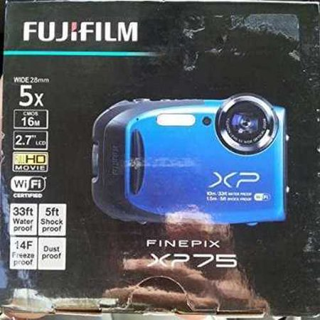 Refurbished FujiFilm Finepix XP75 Water & Shock Proof Digital Camera