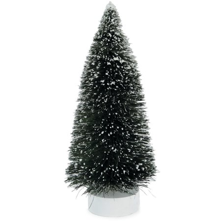 Bottle Brush Trees for Crafts: 8 inch Sisal Tree with Snow
