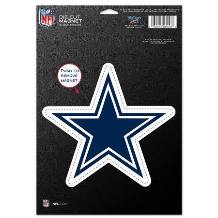 """Dallas Cowboys WinCraft 6"""" x 9"""" Car Magnet - No Size"""