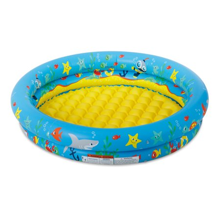 Walmart: Summer Waves 2-Ring Inflatable Baby Swimming Pool, Blue Only $5.67