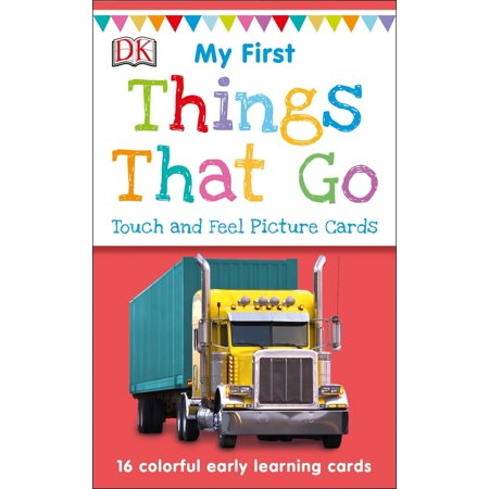 My First Touch and Feel Picture Cards: Things That
