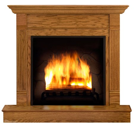 Fireplace Standup](Vintage Cardboard Fireplace)