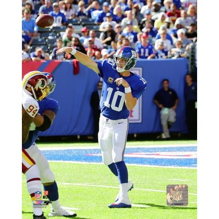 Eli Manning 2016 Action Photo Print