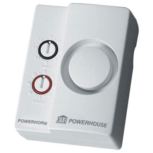X10 Plug-In Powerhorn Siren Module, 105dB (SH10A)