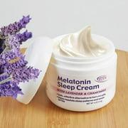 Miracle Plus Melatonin Sleep Cream, 4 oz