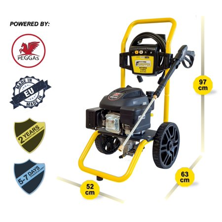 - Waspper W3100VA 3100PSI 2.9 GPM Gas Powered Cold Water High Pressure Washer