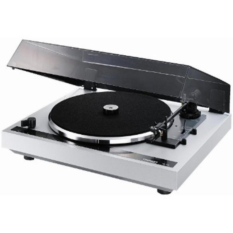 Thorens TD170S 3-Speed Automatic Belt Drive Turntable (Silver)