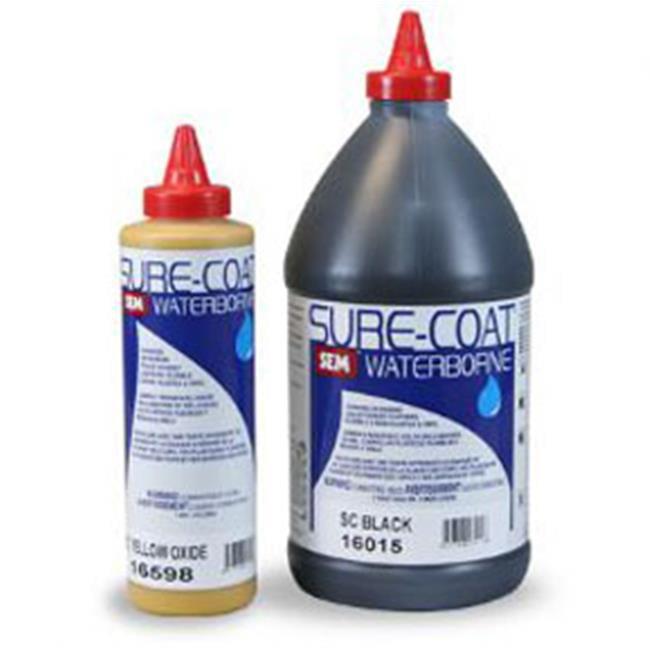SEM Products 16018 Sure Coat- Black, 1-Pint