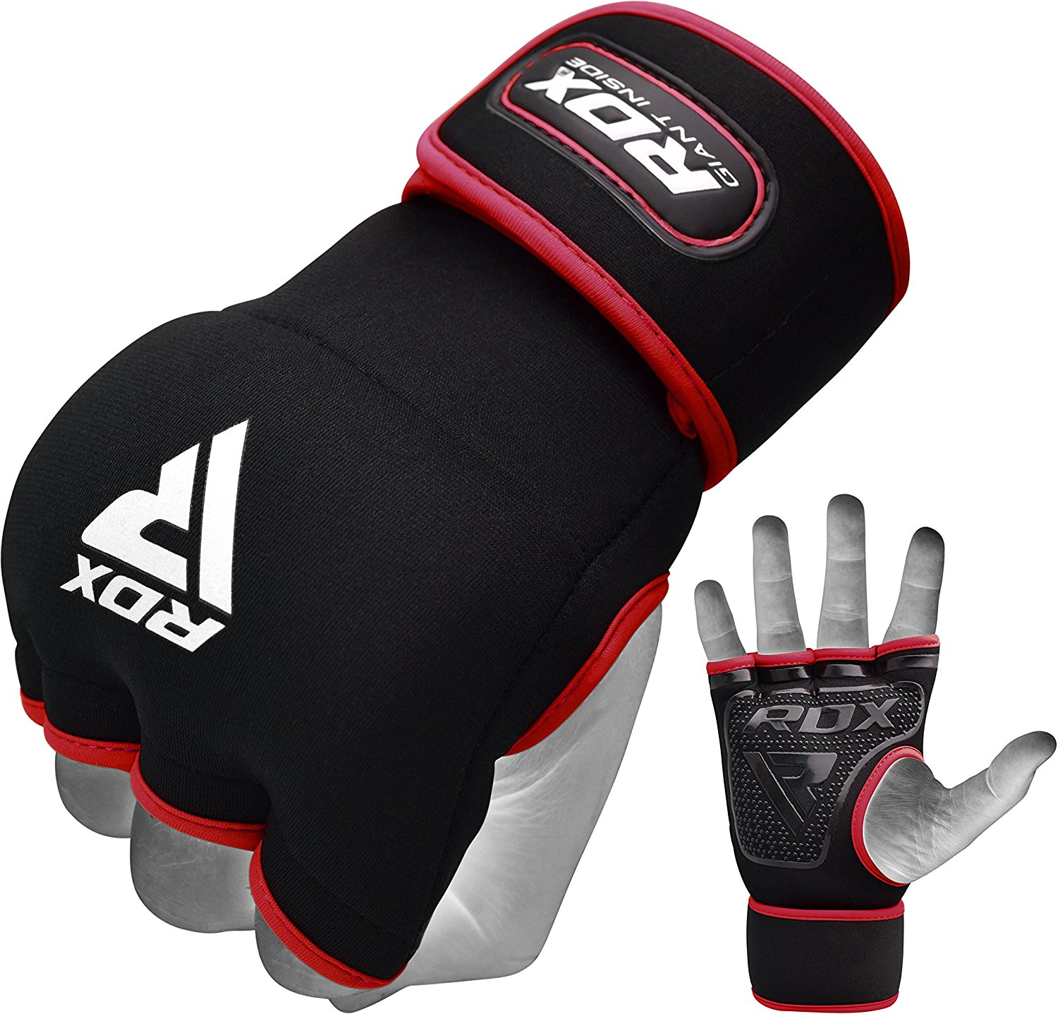 RDX Inner Gloves Hand Wrap MMA Boxing Wrist Strap Support Gel Padded Grip