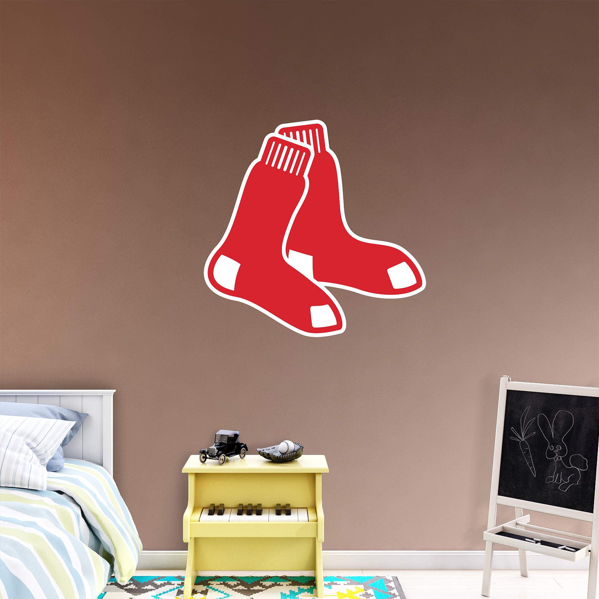 Boston Red Sox Fathead Team Logo Wall Decal - No Size