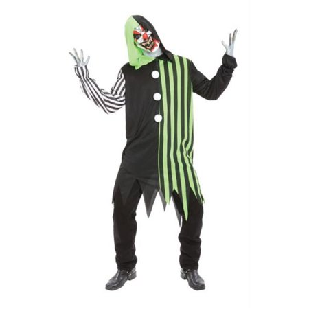 Costumes for all Occasions MR148196 Cleaver The Clown Costume Adul - Clown Outfits For Sale