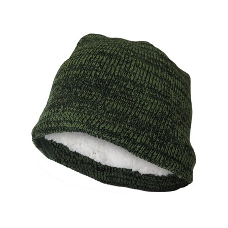 Polar Extreme Beanie Hat for Men and Women Winter Warm Hats Knit Slouchy Thick Skull Cap (Green)