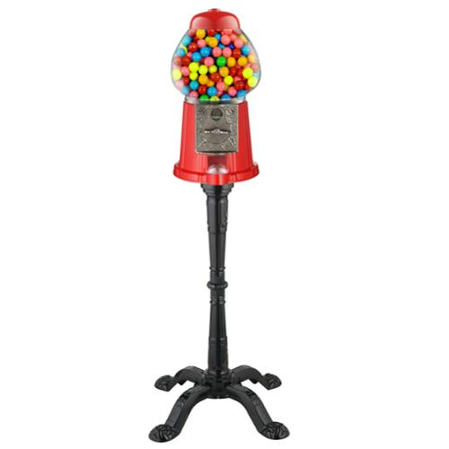 """Great Northern 15"""" Vintage Candy Gumball Machine & Bank with Stand - Everyone Loves Gumballs!"""