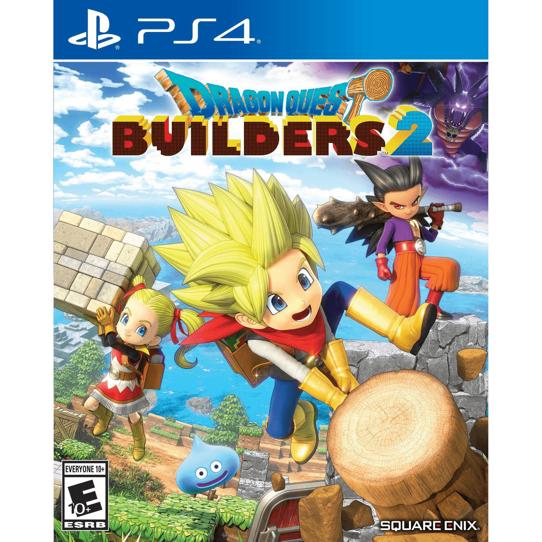 Dragon Quest Builders 2, Square Enix, PlayStation 4, 662248922720