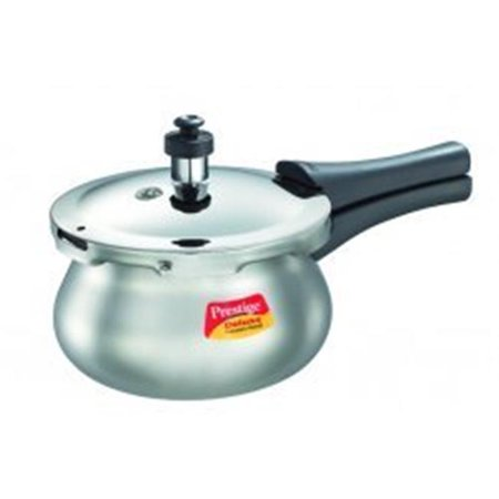 e8f1d6f45c312 Prestige PRDAH3.3 Small Deluxe Plus New Flat Base Aluminum Pressure Handi  for Gas and ...