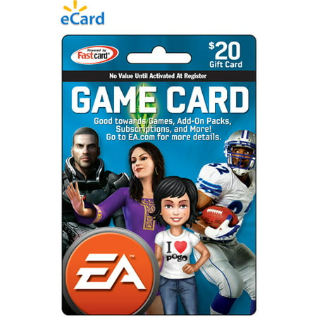 EA $20 eCard (Email Delivery) Electronic (Redeem Cash For Gift Cards)