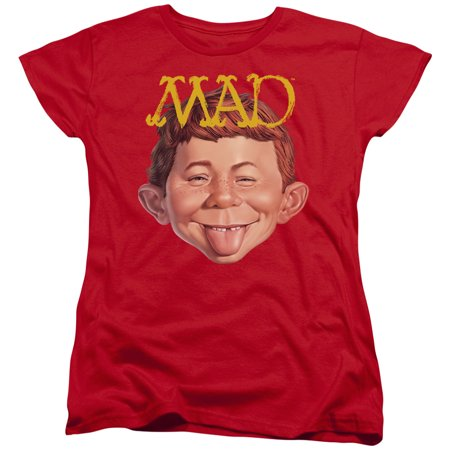 - Womens Mad Magazine  Absolutely Mad Ladies T Shirt Size S