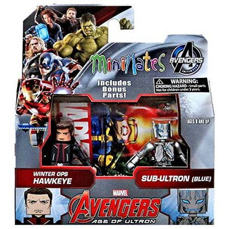 Avengers Age of Ultron Winter Ops Hawkeye & Sub-Ultron Minimates
